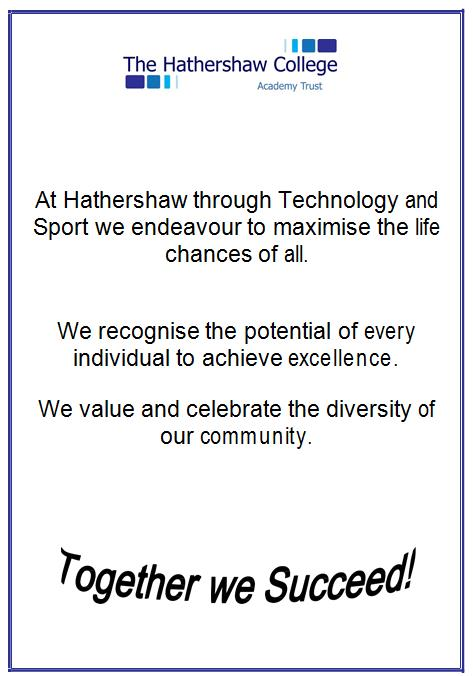 Hathershaw College Aim