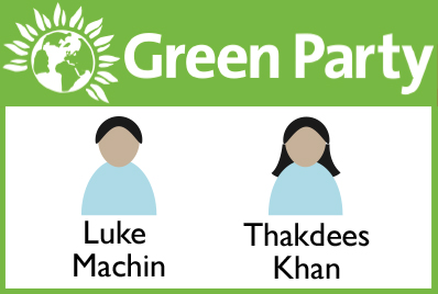 Green Party candidates