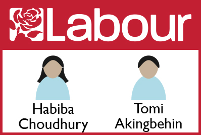 Labour candidates
